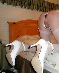 Lots of filthy crossdressing sluts showing off their hard cocks and sexy clothing.