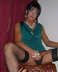 Stunning crossdresser sluts with hard cocks that are good to go.