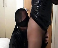 Tranny Yvette gets so turned on by her high heels