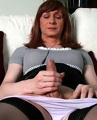 Lucimay relaxing on her sofa gets horny and masturbates